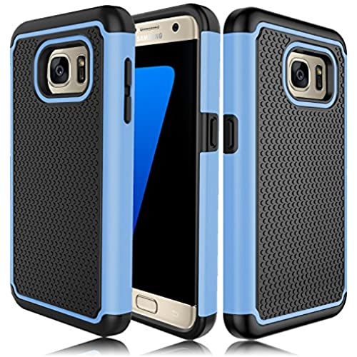 Galaxy S7 Edge Case, ZENIC(TM) Hybrid Armor Dual Layer Shock-Absorption/High Impact Resistant Protective Cover for Samsung Galaxy S7 Edge All Carriers Sales