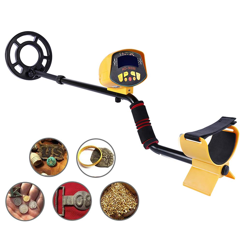 H.L Metal Detector con Display LCD Underground Regolabile Professtional oro Detectors Treasure Hunter Tracker Seeker Portable Hunter oro Digger