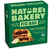 Nature's Bakery Stone Ground Whole Wheat Apple Cinnamon Fig Bars, 6 ct
