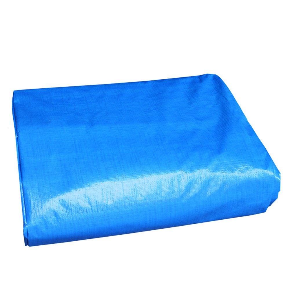 DYFYMXOutdoor Ausrüstung Tarpaulin-Waren-Sonnenschutzisolierungsautoabdeckung regendichter regendichter regendichter Sonnenschutzisolierungantioxidant, Blau  Orange @ B07K7LKQGR Tunnelzelte Jahresendverkauf d82bad
