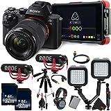 Sony Alpha a7 II Mirrorless Digital Camera International Version (No Warranty) with FE 28-70mm f/3.5-5.6 OSS Lens + Sony MDR-7506 Studio Headphones Vlogging Starter Kit Bundle