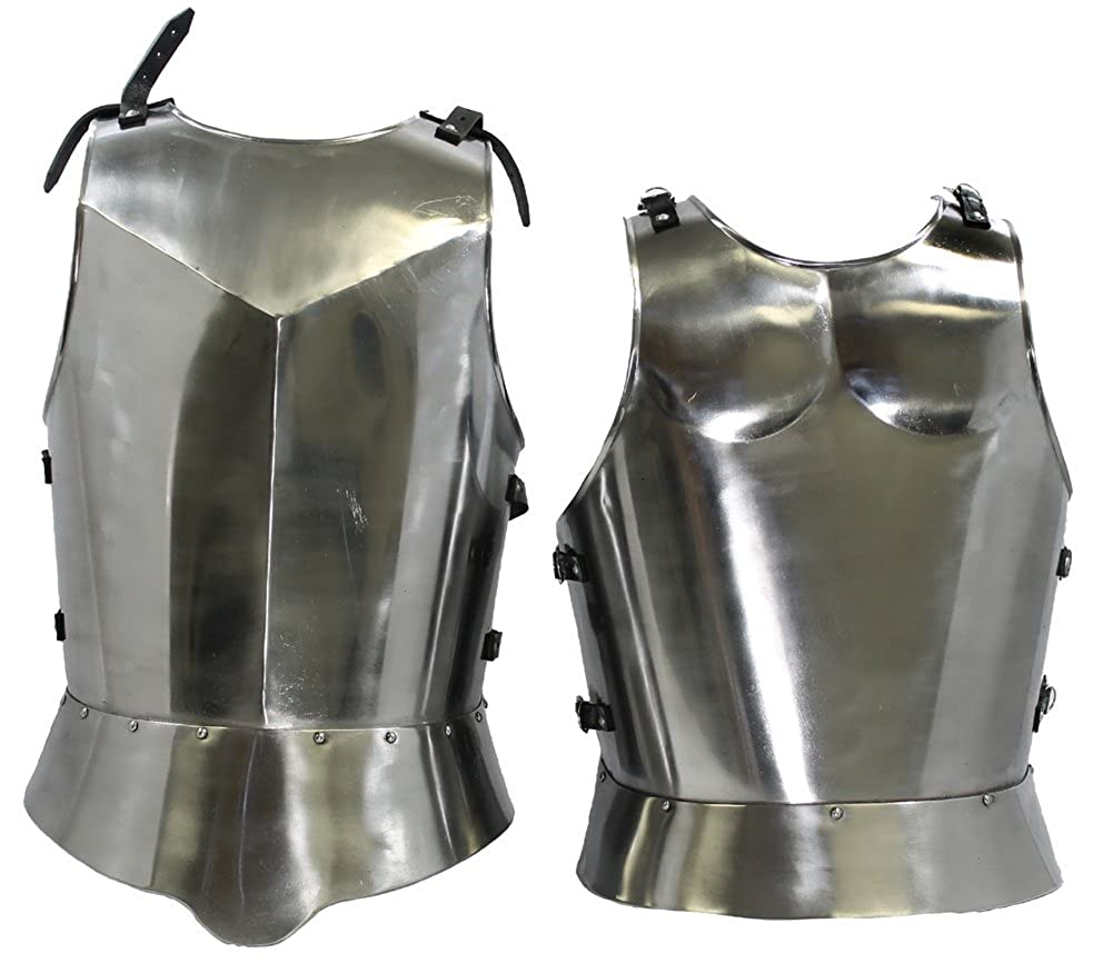Nauticalmart Medieval Gothic Knight Breastplate With Spaulders