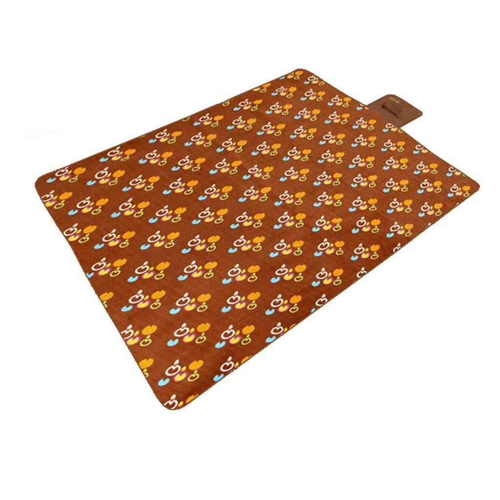 KYCD - Tappetino da Picnic in Pile per Esterni, per Gattonare, Multicolore e Diverse specifiche (200 × 150 cm) B(200 × 150cm)