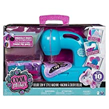 Cool Maker - Deluxe Sew N Style Kids Sewing Machine with Pom Pom Maker Attachment