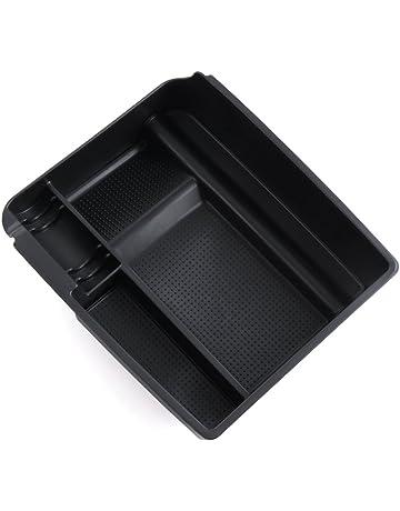 Upgrade Auto Medio Consola reposabrazos Caja Guantera secundaria Almacenamiento | para Kia Sportage R 2011 –