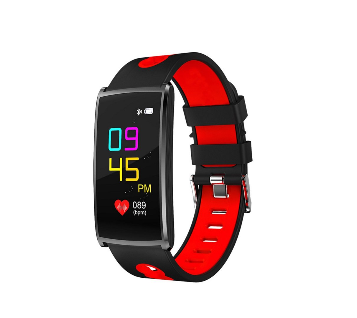 Neue Farbe Smart Armband Herzfrequenz Gesundheit Wear Fashion Farbe Wert Strap Bewegung Schritt Zähler Wasserdicht, Kalorien, Entfernung, Herzfrequenz, Schlafzeit, Foto, Blautooth 4.0 Unterstützung