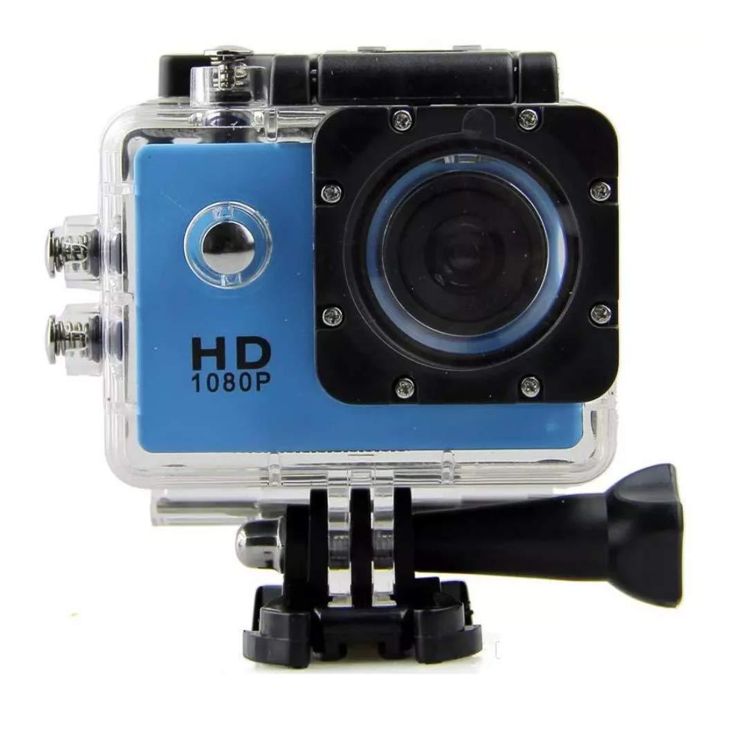 Sports Camera SJ 4000 1080P 2 Inch LCD Full HD Under Waterproof 30M Sport DV Recording Bicycle Skate Record Blau