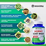 Premium Herbal Blend Horny Goat Weed for Men and
