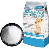Hamster Bathing Sand,Gerbil Powder Grooming Sand for Tiny Friends Farm Chinchilla Dust Bath Potty Litter Sand (2LB) (Hamster