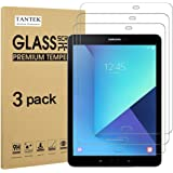TANTEK [3-Pack] Screen Protector for Samsung Galaxy Tab S3 / Galaxy Tab S2 9.7 Inch,Tempered Glass Film,Ultra Clear,Anti Scra