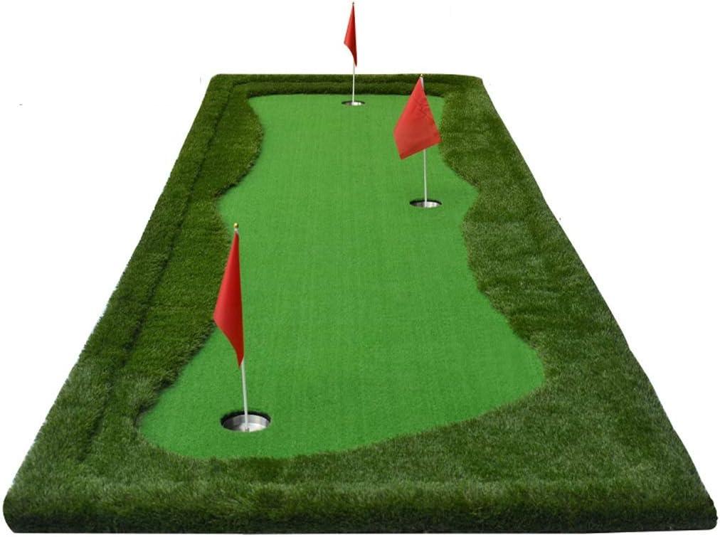 IAIZI 大型ゴルフグラス練習マットドライビングチッピングピッチングパッティング (サイズ さいず : 100*300)  100*300