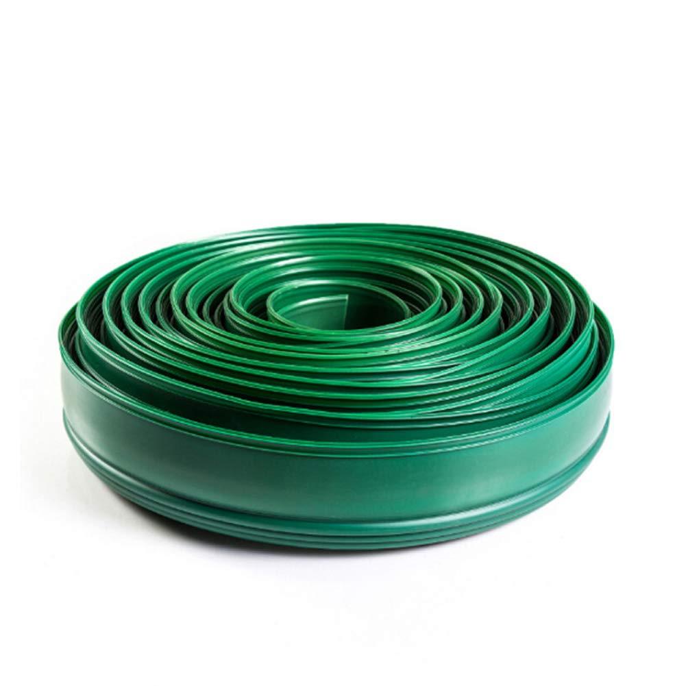 Bobina del Bordo del Paesaggio del Giardino, Bordo del terrazzo, pianificatore dello Spazio del Prato di materie plastiche,verde,20cmx5m