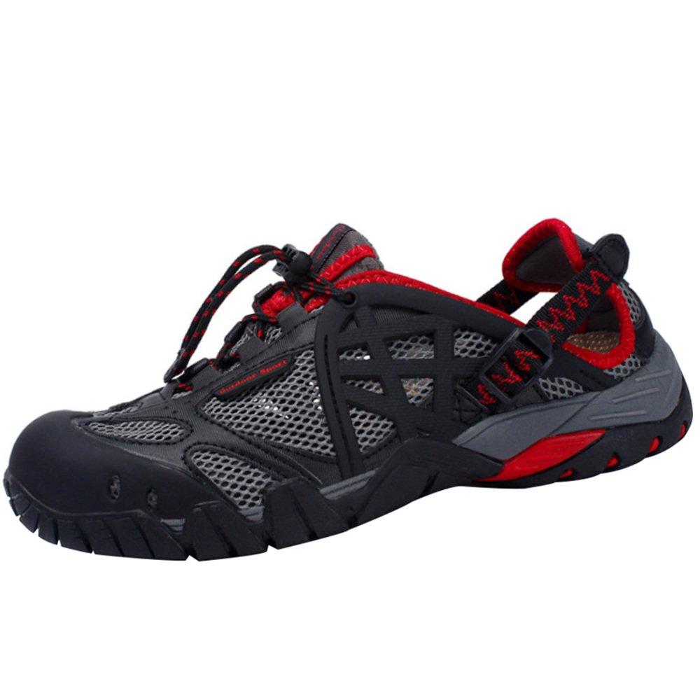 Rouge Neutre Escalade Sandales Chaussures De Randonnée Sports De Plein Air Chaussures Amphibies Légères Chaussures De Séchage Rapide 40EU