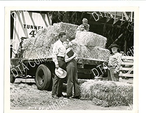 RODEO-8X10-PROMO STILL-ARCHER-GARY-FORD-NIGH-Exercise-ROMANCE-SPORT-1952- VG/FN