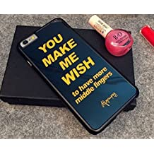 iPhone 6 plus/6s plus Case , Mirror Tempered Glass Hard Back Case, Make Life Getting Better(MLGB) Fashion Case (iPhone6 Plus/6s Plus #2)