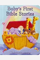 Baby's First Bible Stories Padded Board Book - Gift for Easter, Christmas, Communions, Newborns, Birthdays, Ages 1-6 Board book