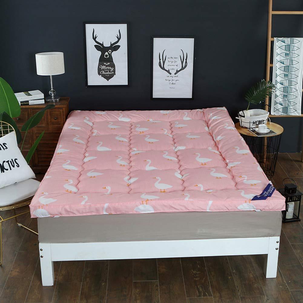 D 100x200cm(39x79inch) Seasons Thicken Warmth Tatami Floor mat,Student Dormitory Single Double Foldable Mattress-G 150x200cm(59x79inch)