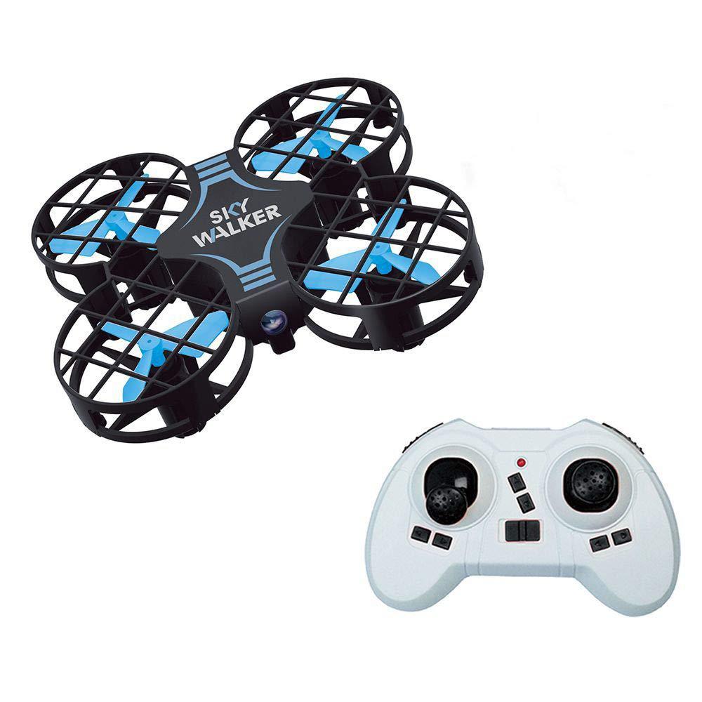 ASD Drone Mini con Funzione Headless Altitude-Hold Portatile Quadricottero Controllo di più Lunga Distanza Flip 3D Tascabile Acrobatico RC Drone Return Home Facile da Controllare per I Principianti