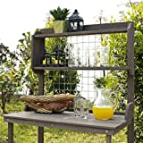 Coral Coast Coral Coast Potting Bench with Hanging