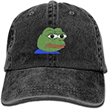 SDQQ6 Frog Pepe Adult Cowboy Hat Baseball Cap Adjustable Athletic Making Fashion Hat for Men and Women