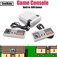 Weardear Retro Classic Mini Game Consoles Retro Built-in 620 Classic Games Dual Gamepad Gaming Player Handheld Games
