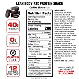 Lean Body Ready-to-Drink Cookies and Cream Protein