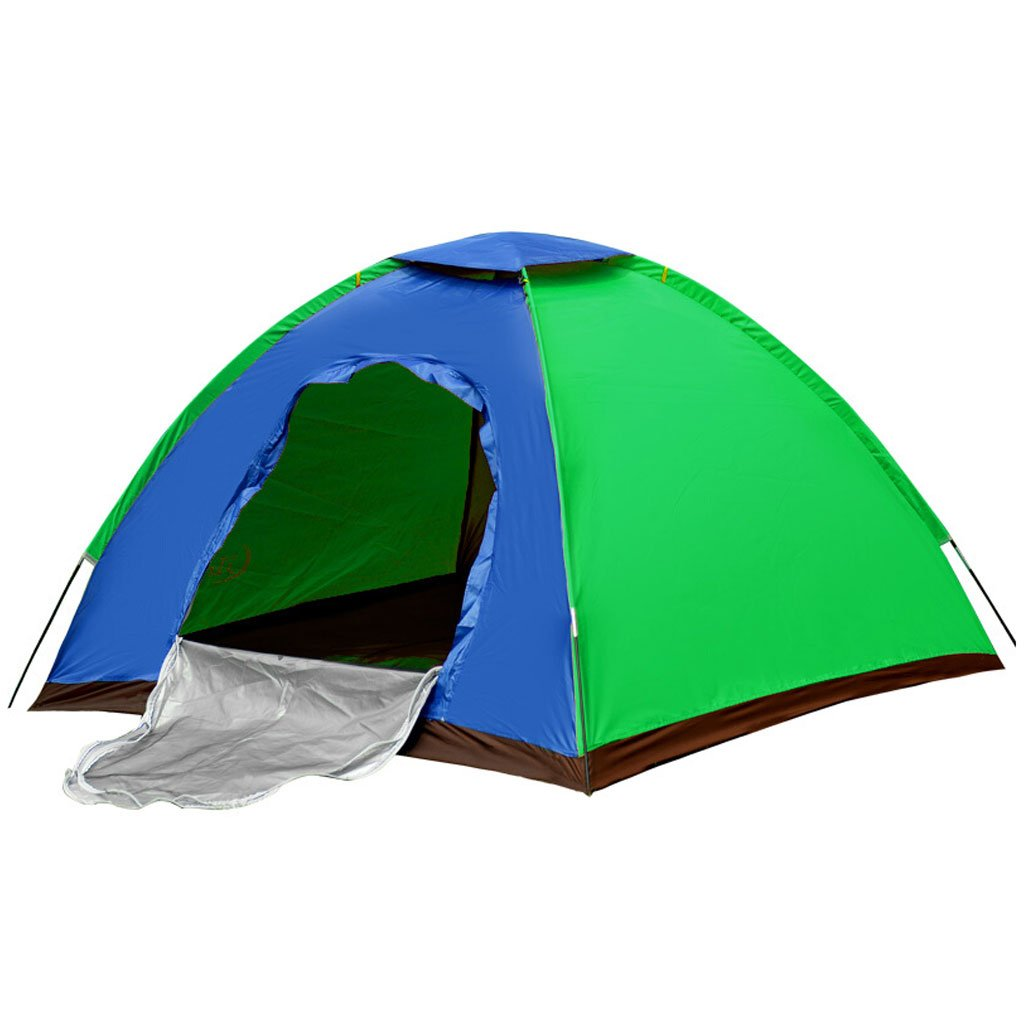 He Ping Yuan Zelt Outdoor-Zelte Double People Single Door Camping Ausflug Freizeit Zelt Set @@