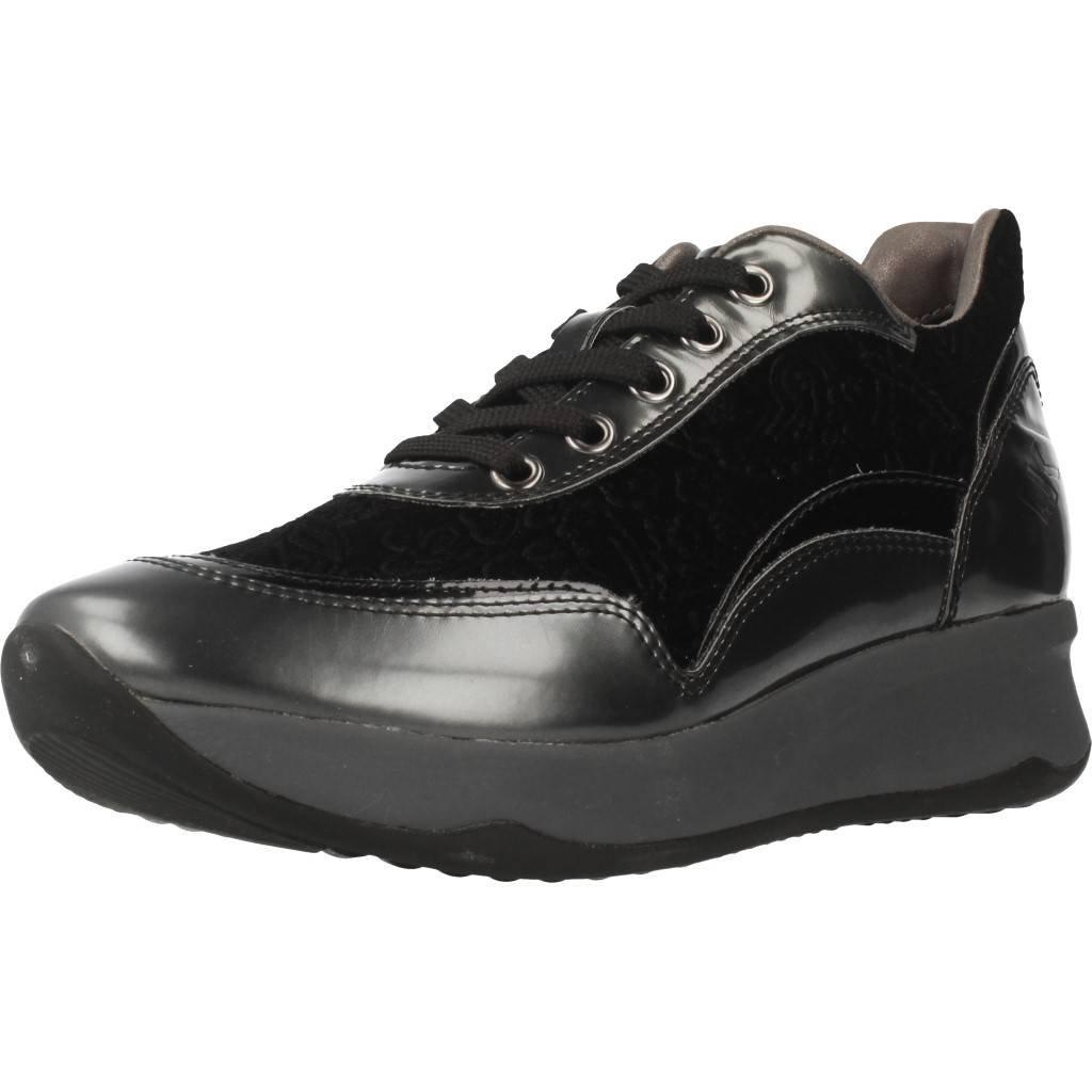 Lumberjack SW35305 001 N41 Zapatos Mujeres 37 EU|Negro