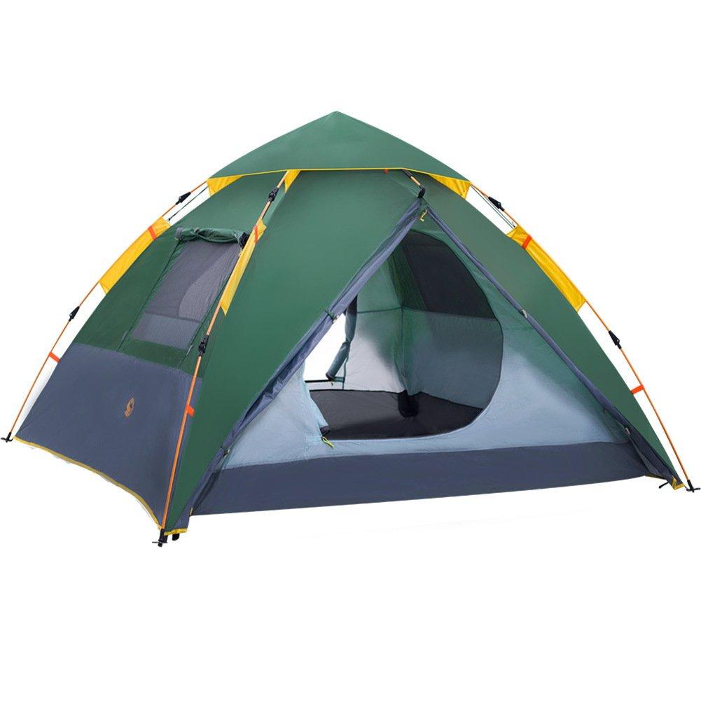TY&WJ Vollautomatische Campingzelt,Portable Faltung Zelte Kuppelzelte Für Outdoor-sportarten Klettern Wandern Tipi 3-4 Personen