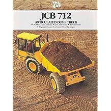 1990 JCB 712 Construction Dump Truck Sales Brochure