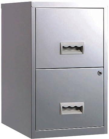 Pierre Henry - Archivador con cerradura (2 cajones, tamaño A4, 400 x 400