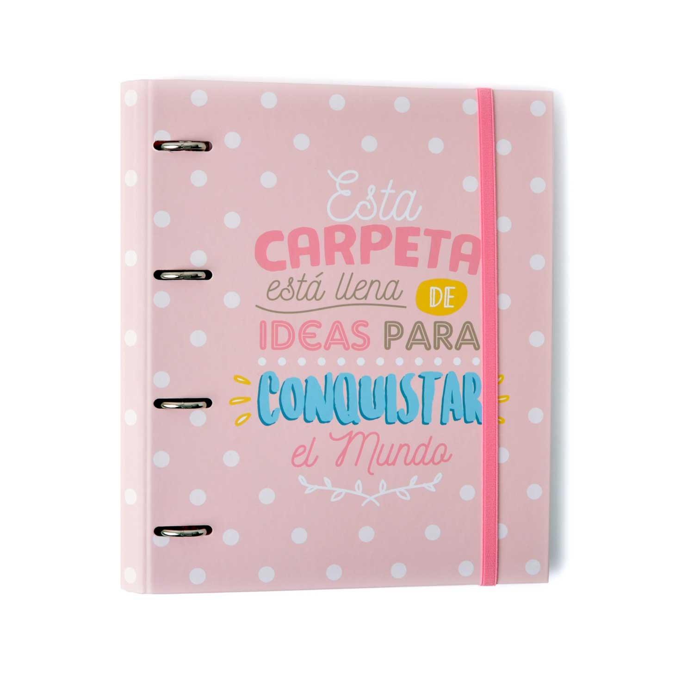 Grupo Erik Editores CAT0016 - Carpeta 4 Anillas Troquelada Premium Carouge product image