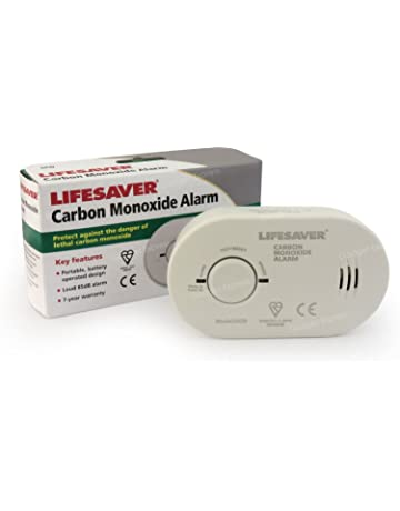Kidde 5 colsb detector de monóxido de carbono alarma funciona con pilas larga duración sensor electroquímico