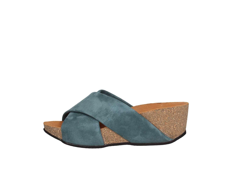 Frau 59a6 Casual Sandal Mujer 38 EU|Azul