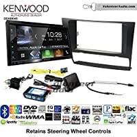 Volunteer Audio Kenwood Excelon DDX6904S Double Din Radio Install Kit with Satellite Bluetooth & HD Radio Fits 2006-2013 BMW 3 Series