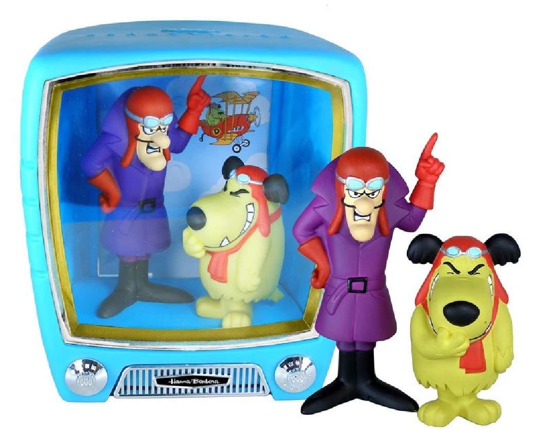 Barato Hanna-Barbera Dastardly  Muttley 2 Figuras PVC ca 12-15cm en Set TV de Funko