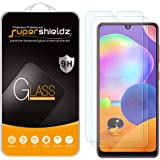 (2 Pack) Supershieldz Designed for Samsung Galaxy A31 Tempered Glass Screen Protector, Anti Scratch, Bubble Free