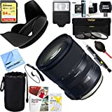 Tamron (AFA032C-700) SP 24-70mm f/2.8 Di VC USD G2 Lens for Canon Mount + 64GB Ultimate Filter & Flash Photography Bundle