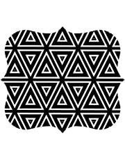 Fellowes Pad Mouse Pad, Geometric Triangles (5919201)
