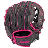 Franklin Sports Teeball Infinite Web/Shok-Sorb Combo Series Fielding Glove, 10.5-Inch