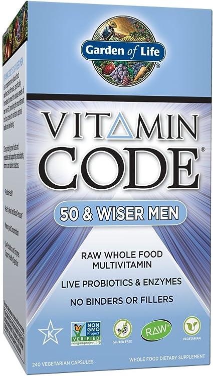 las vitaminas para hombres prosperan
