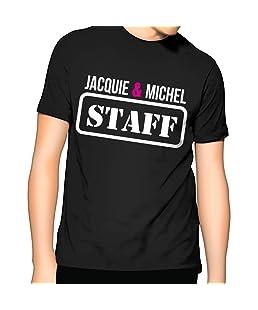 Jacquie et Michel T-Shirt Homme Staff