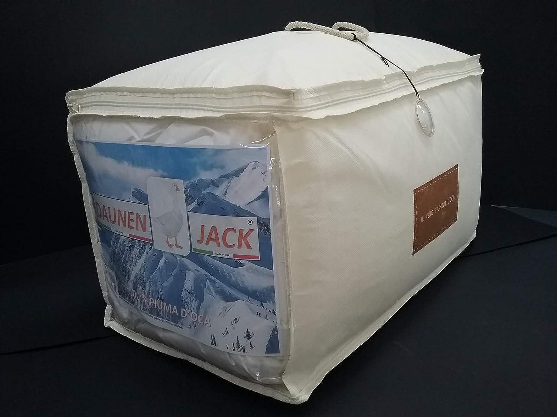 Daunendecke für Doppelbett, antiallergisch, Daunen Jack – Maxi cm 250 x 220 cm Art.-Nr. Sockel warm 50 50
