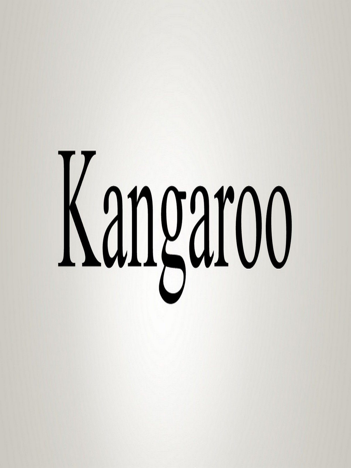 Watch How To Pronounce Kangaroo  Prime Video