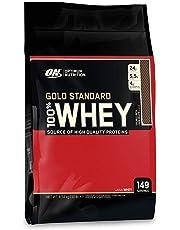 Optimum Nutrition 100% Whey Protéine Gold Standard - Double chocolat, 149 Portions - A base de Isolate / Concentré / Hydrolysé, 4,54 kg