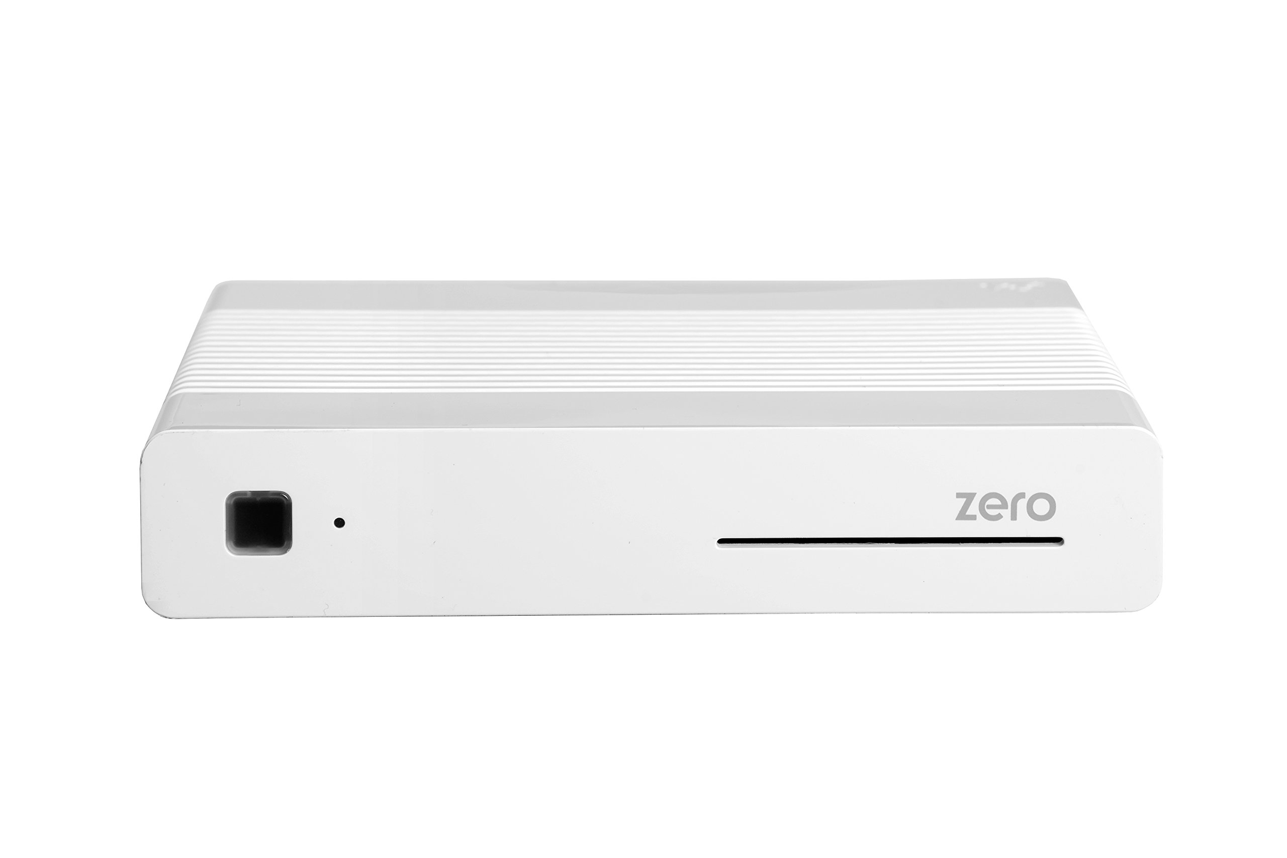Vu+ Zero WE - Receptor de TV por satélite (Full HD, DVB-S2, HDMI), color blanco [Clase de eficiencia energética A to C]