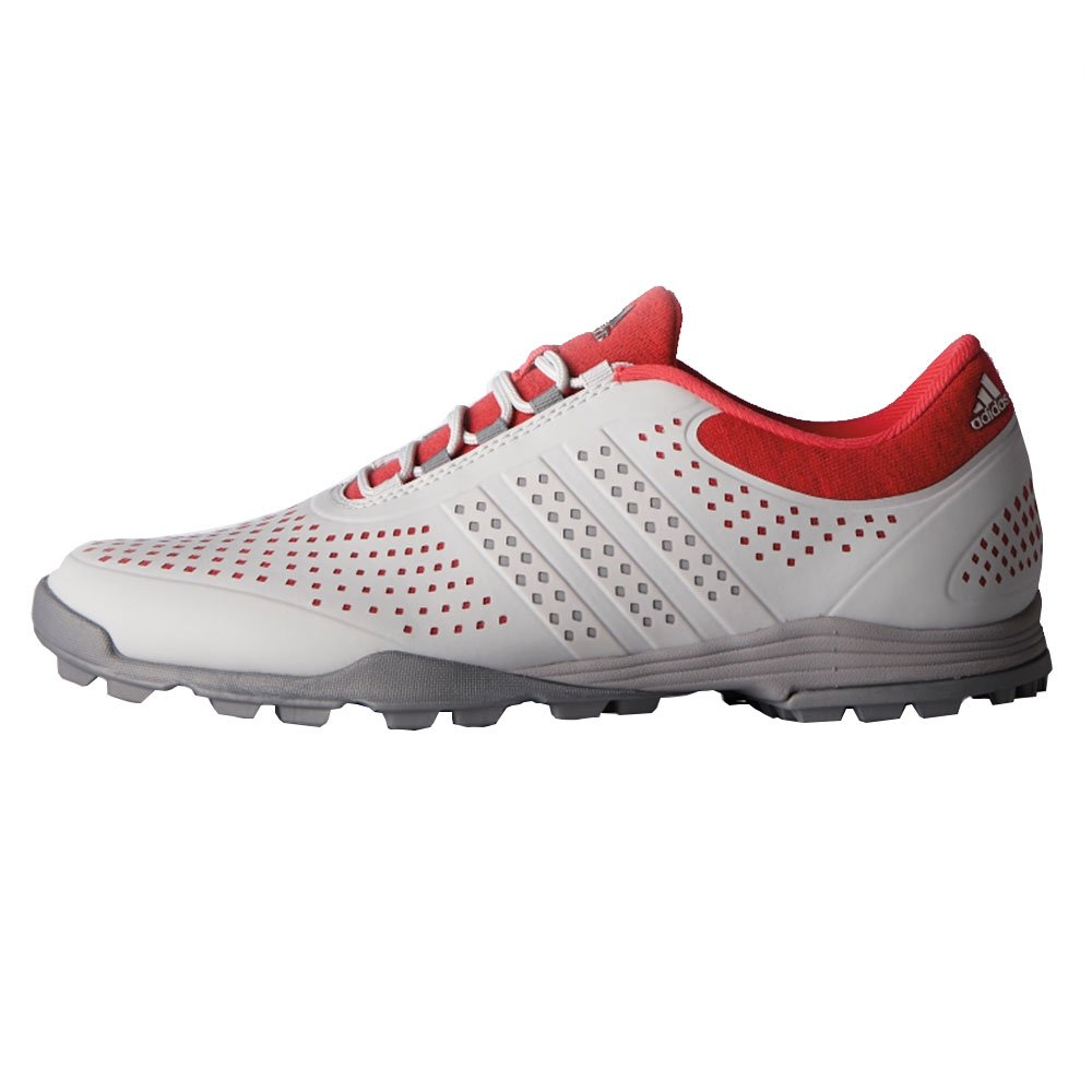 adidas Women's Adipure Sport Golf Shoe B01IWCV5QK 5 B US Grey pink