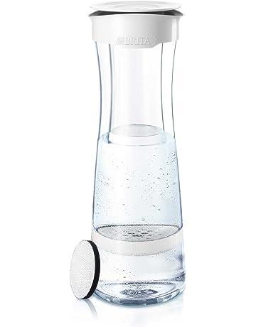 BRITA Botella con Filtro 1.3 l, Color Blanco/Grafito