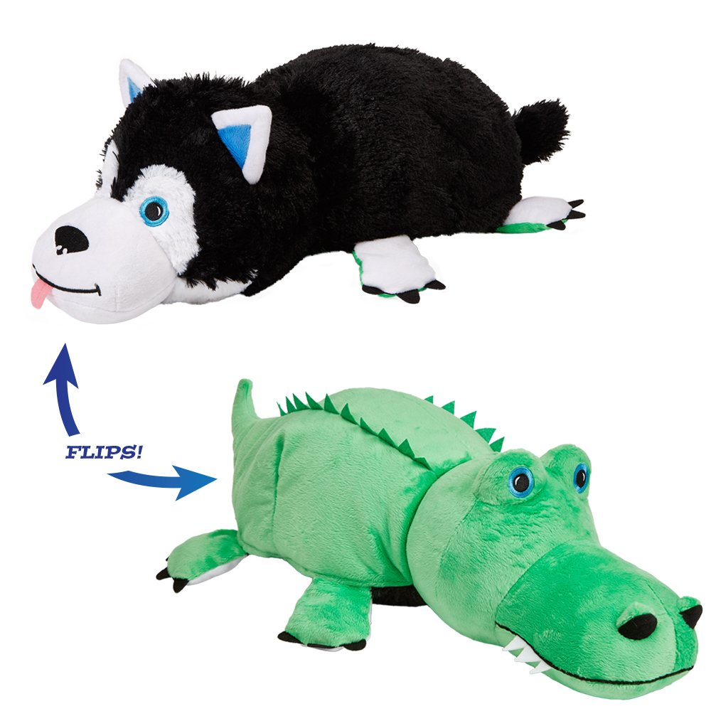 f84c9ad30 Flip pets the amazing toy thats two pets in one for everyone gator husky  toys games