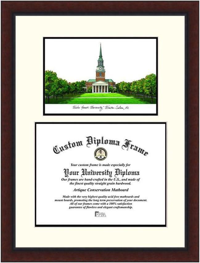 キャンパスイメージNCAA Wake Forest University Legacy Scholarフレーム